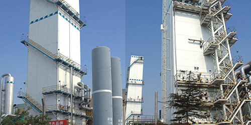 液空鲍德气体项目冷箱钢结构
